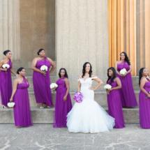 Purple, Bridesmaids