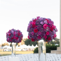 Parthenon, Nashville, Weddings, Purple, Ceremony Decor