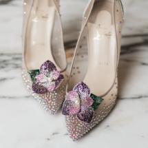 christian louboutin, wedding shoes