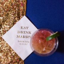 Cocktail Napkins, Custom