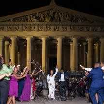 Wedding Exit, Confetti, Parthenon Nashville
