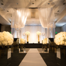 Frist Center Wedding, White Florals